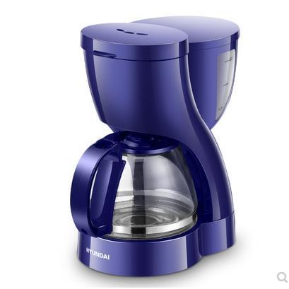 HYUNDAI/现代 CM1009美式咖啡机家用滴漏式全自动小型煮咖啡壶